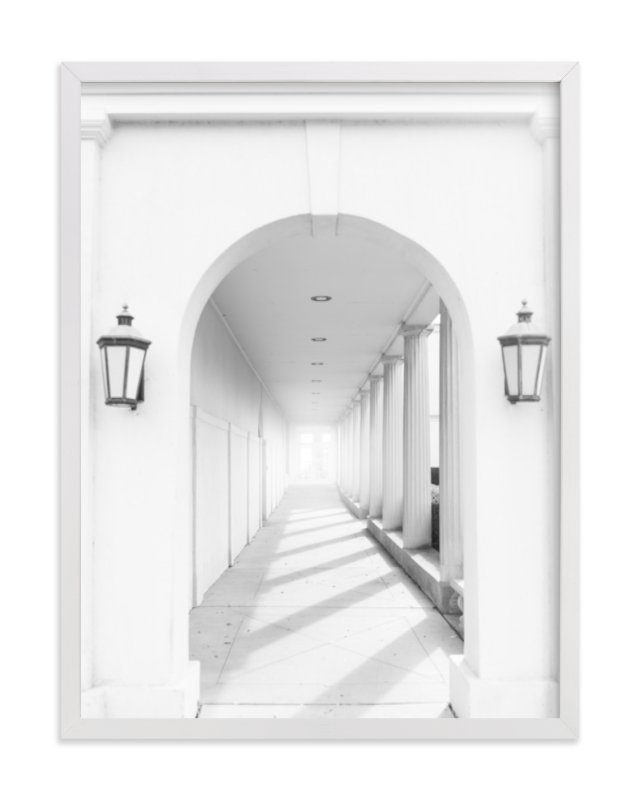 """Arches"" - Art Print by Ilze Lucero in beautiful frame options and a variety of sizes."
