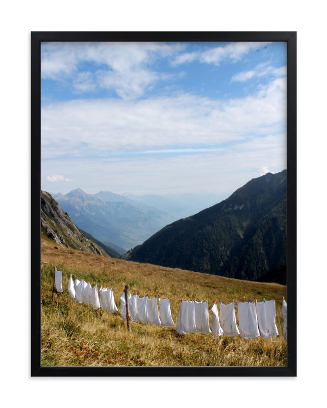 """Laundry Day #2"" - Art Print by CJ Kurtzman Photography in beautiful frame options and a variety of sizes."