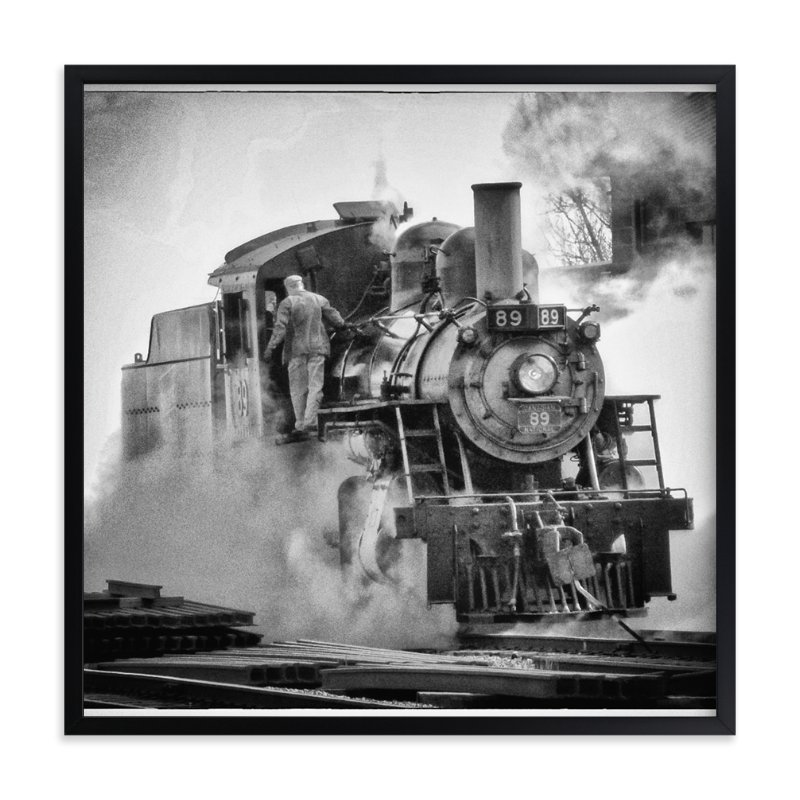 """Engine 89"" - Art Print by Mazing Designs in beautiful frame options and a variety of sizes."