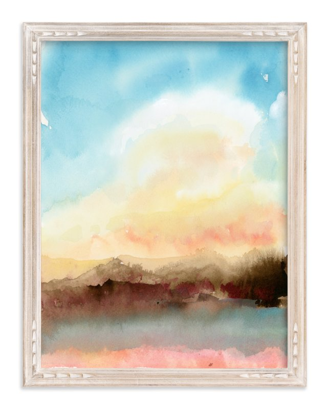 """Mirage"" - Art Print by Lindsay Megahed in beautiful frame options and a variety of sizes."