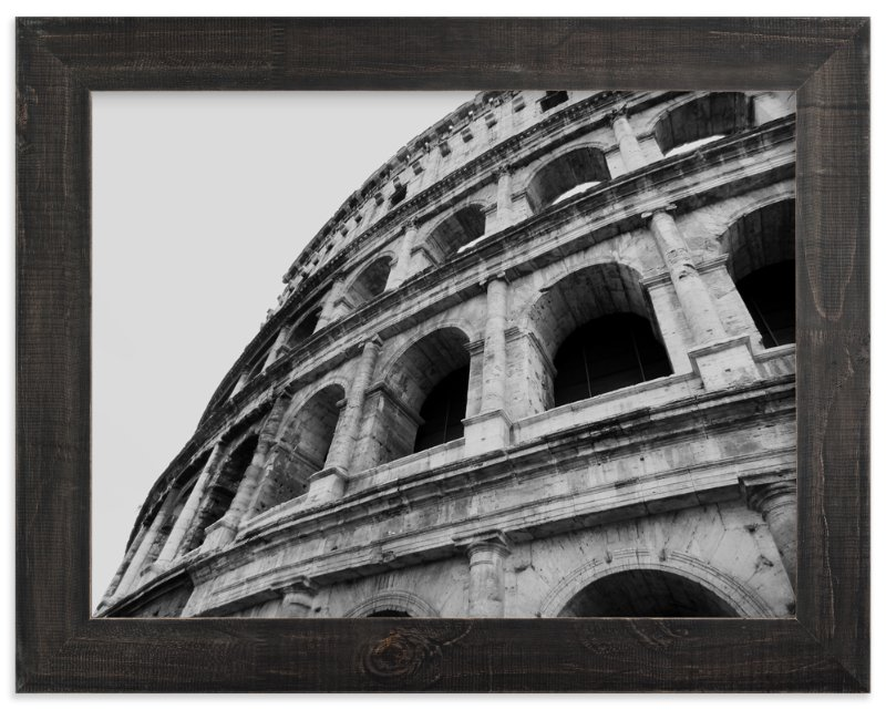 """Coliseum of Rome"" - Art Print by Amanda Radziercz in beautiful frame options and a variety of sizes."