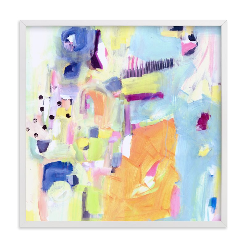 """""""Factory"""" - Art Print by Lindsay Megahed in beautiful frame options and a variety of sizes."""