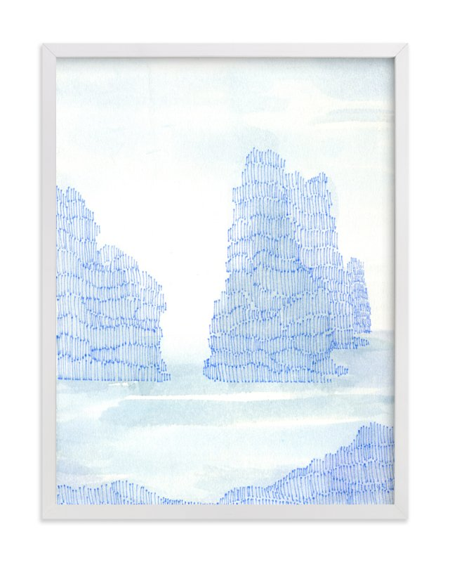 """""""Oregon Coast"""" - Art Print by Me Amelia in beautiful frame options and a variety of sizes."""
