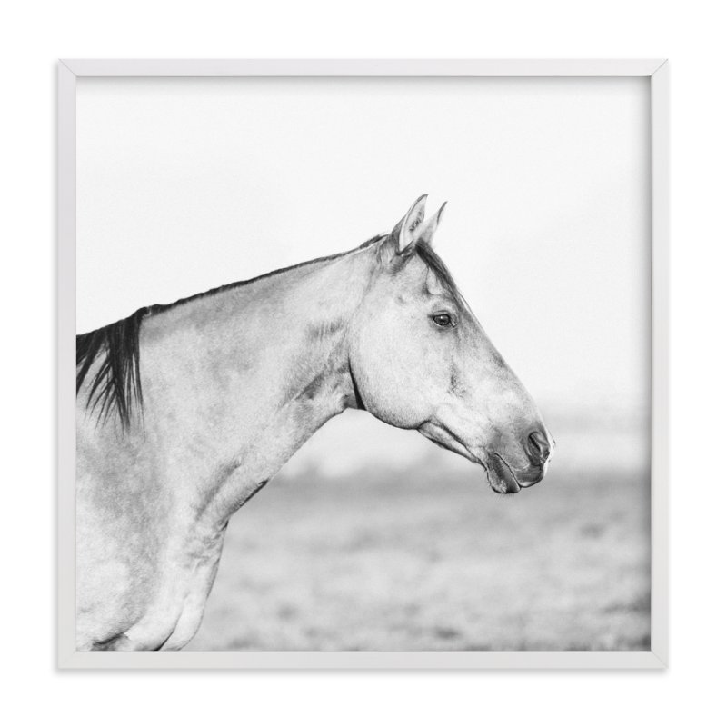 """""""What Lies Ahead"""" - Art Print by Jessica Cardelucci Nugent in beautiful frame options and a variety of sizes."""