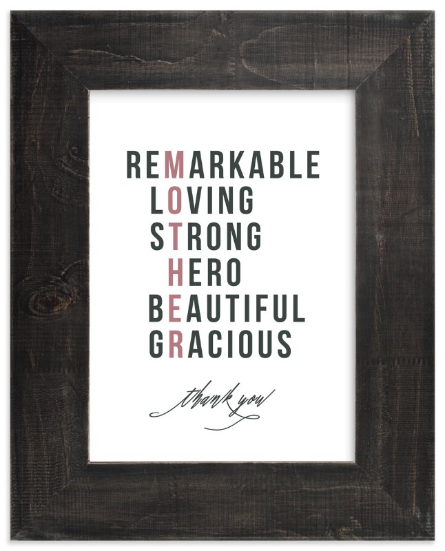 """""""Our Mother's Character"""" - Art Print by Jennifer Postorino in beautiful frame options and a variety of sizes."""