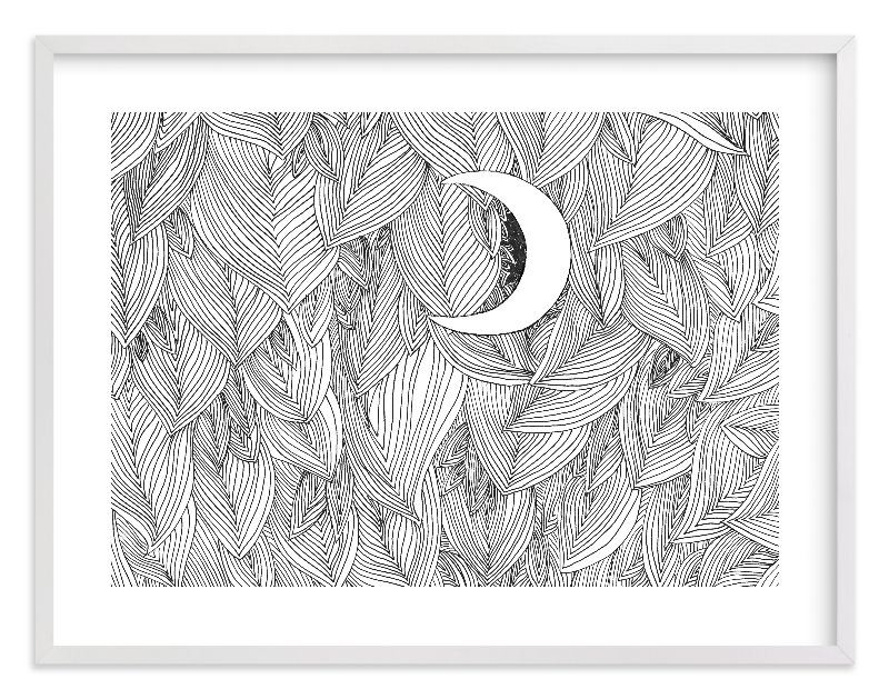 """""""Peek A Boo"""" - Limited Edition Art Print by Helen H Wu in beautiful frame options and a variety of sizes."""