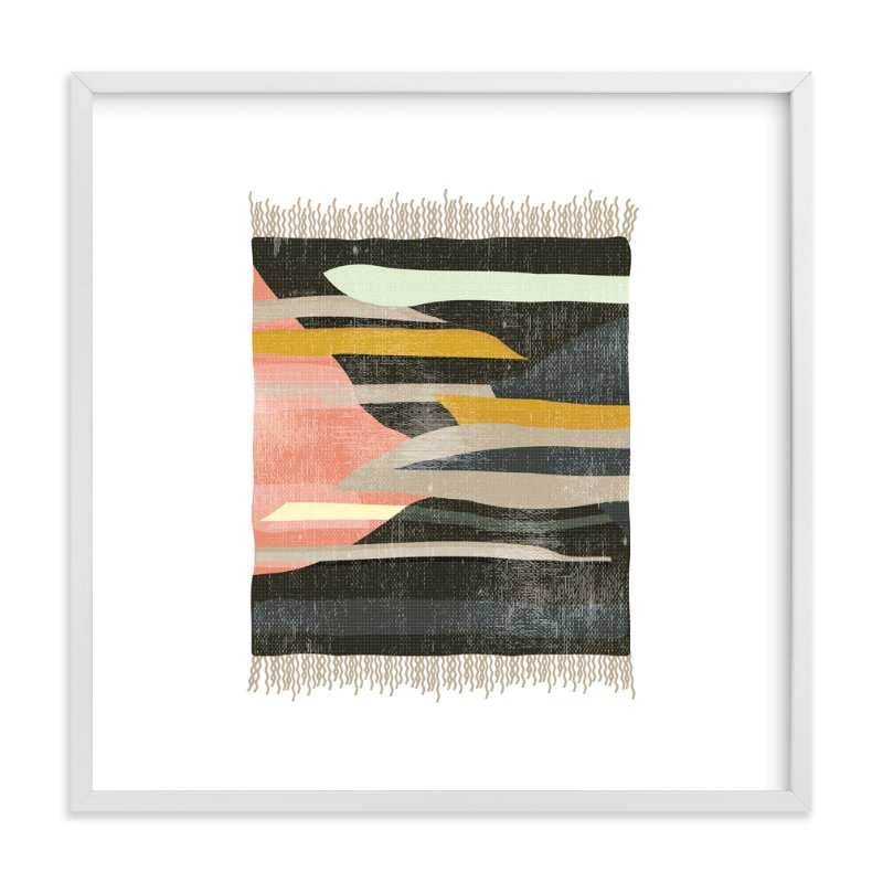 """""""tapestry 1"""" - Art Print by Kate Capone aka Oh So Suite in beautiful frame options and a variety of sizes."""