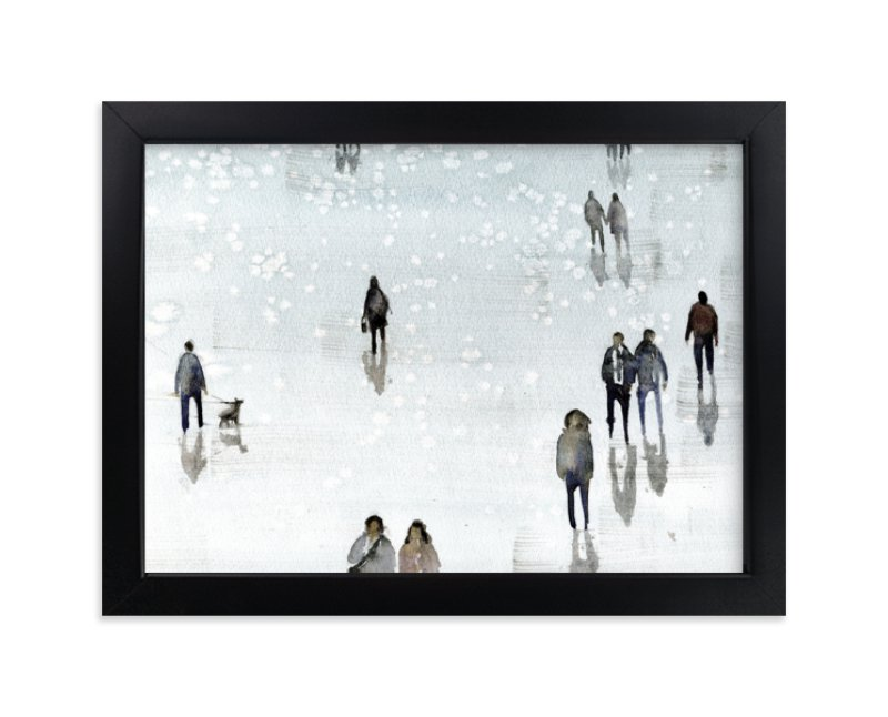 """""""Melancolia"""" - Art Print by Lulaloo in beautiful frame options and a variety of sizes."""
