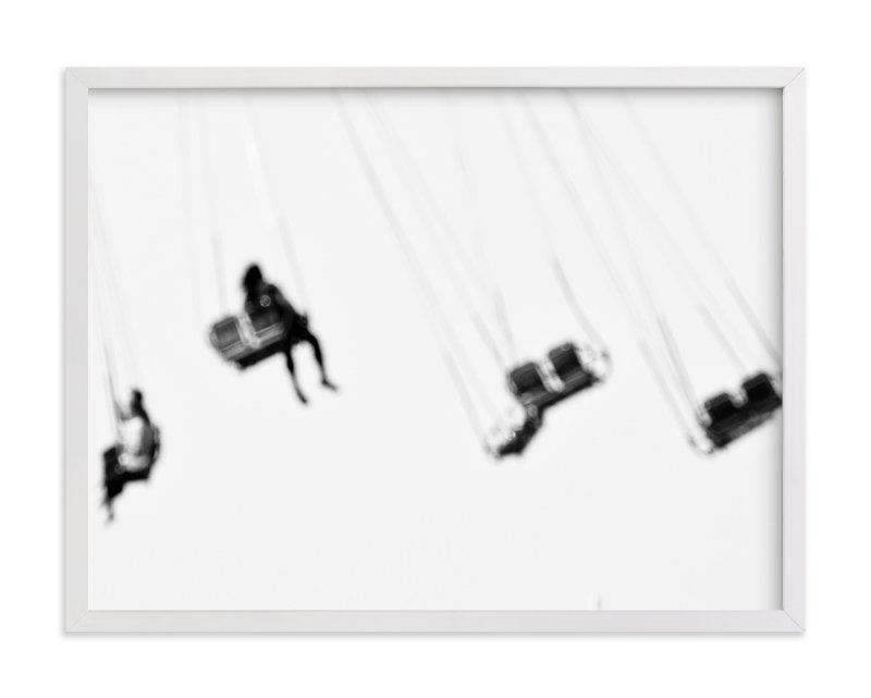 """Coney Island"" - Art Print by Kaitlin Rebesco in beautiful frame options and a variety of sizes."