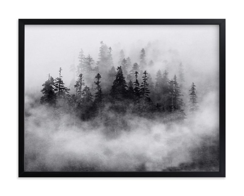 """""""Lost in the Fog"""" - Art Print by Mazing Designs in beautiful frame options and a variety of sizes."""
