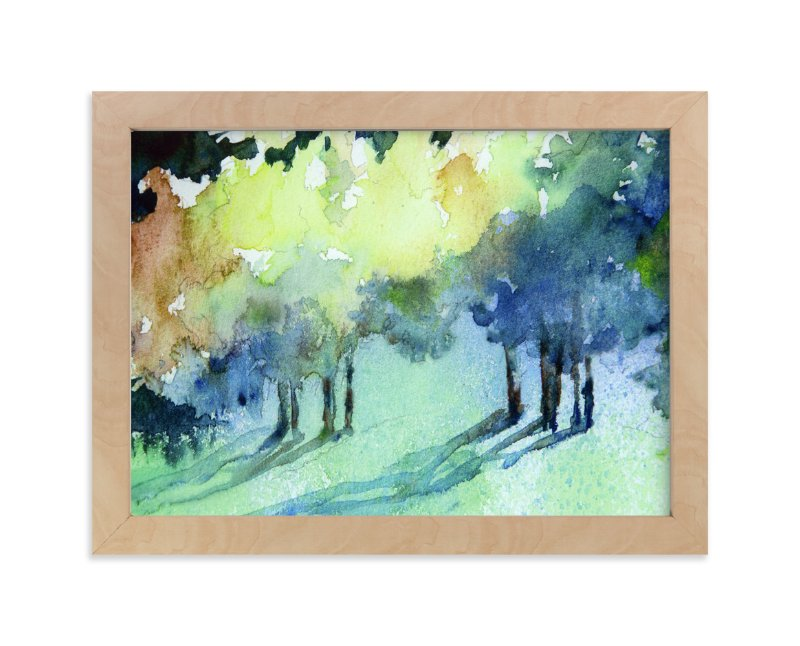 """""""Streaming"""" - Art Print by Debra Pruskowski in beautiful frame options and a variety of sizes."""