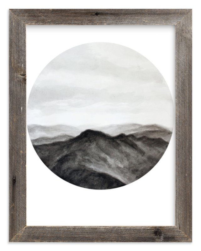 """Looking Forward"" - Art Print by Hannah Perrine Mode in beautiful frame options and a variety of sizes."