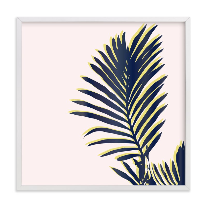"""Palm Study #2"" - Art Print by Cindy Lackey in beautiful frame options and a variety of sizes."