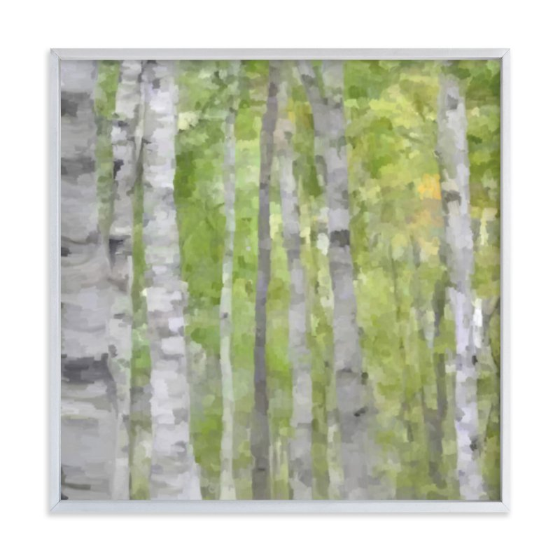 """""""Summer Birches"""" - Art Print by Amy Hall in beautiful frame options and a variety of sizes."""
