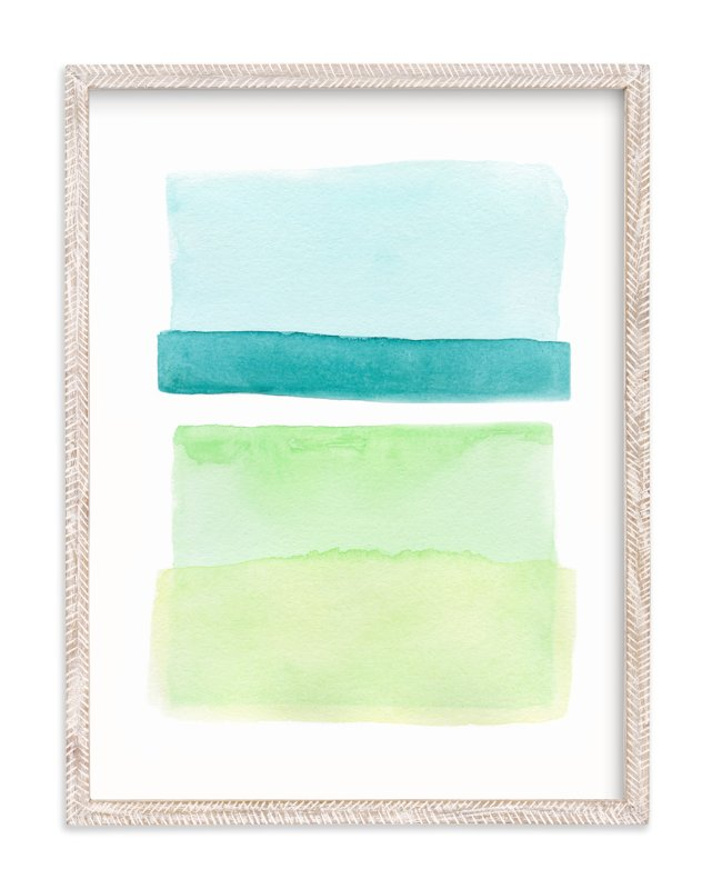 """""""Layer Study"""" - Art Print by Chelsey Scott in beautiful frame options and a variety of sizes."""