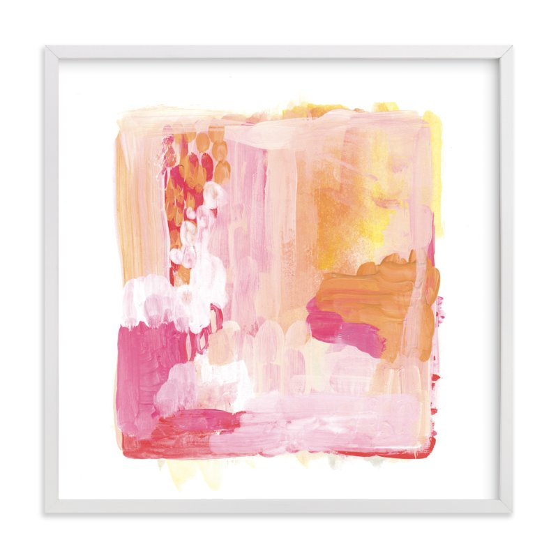 """""""Paint Study Sunset"""" - Limited Edition Art Print by Alethea and Ruth in beautiful frame options and a variety of sizes."""