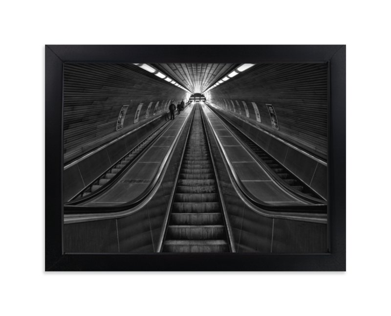 """The Descent"" - Art Print by Mark Kirby in beautiful frame options and a variety of sizes."