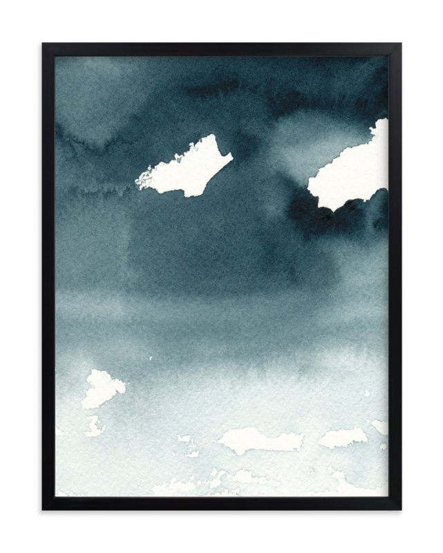 """""""Mist Rises Over the Water"""" - Art Print by Renee Anne in beautiful frame options and a variety of sizes."""