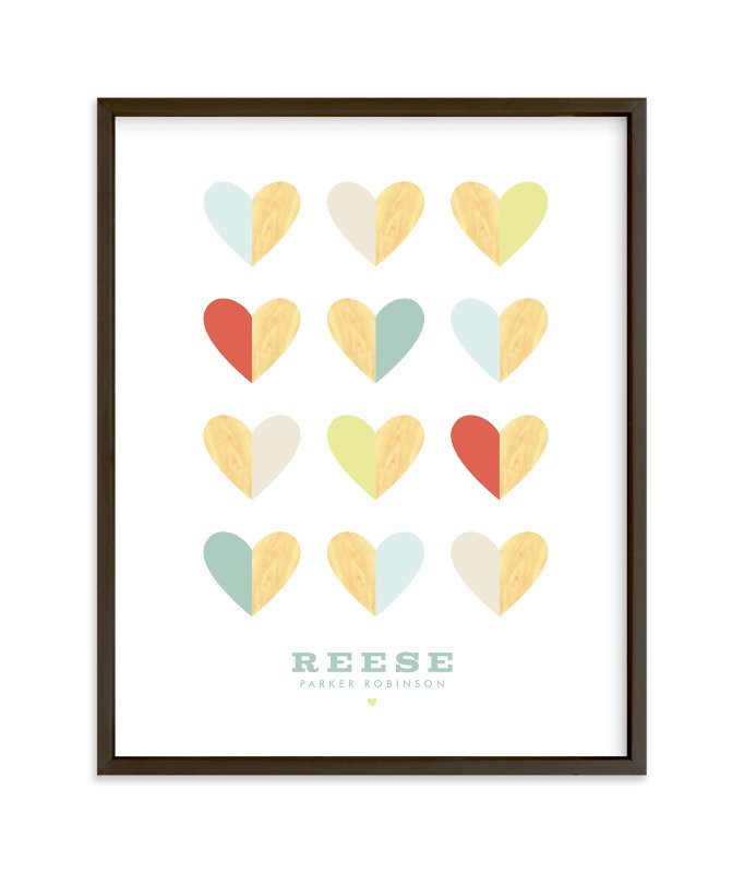 """Engrained In Our Hearts"" - Children's Custom Art Print by Keen Peachy in beautiful frame options and a variety of sizes."