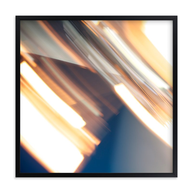 """""""Spinning Lights No.2"""" - Art Print by Jennifer Daily in beautiful frame options and a variety of sizes."""