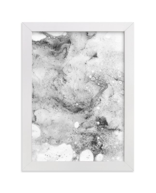 """""""Marble Two"""" - Art Print by Melissa Selmin in beautiful frame options and a variety of sizes."""