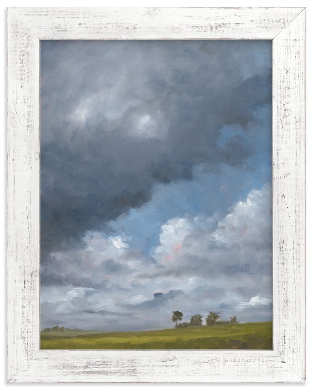 """""""Topland Storm"""" - Art Print by Stephanie Goos Johnson in beautiful frame options and a variety of sizes."""