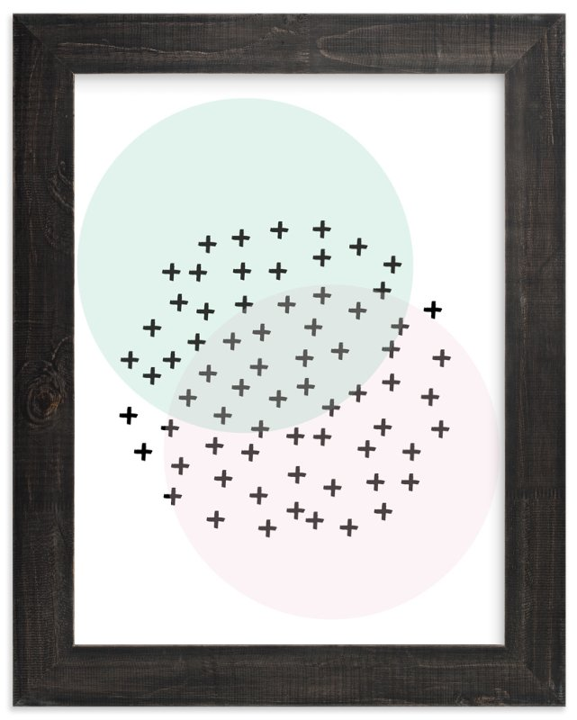 """positive"" - Art Print by tammie bennett in beautiful frame options and a variety of sizes."