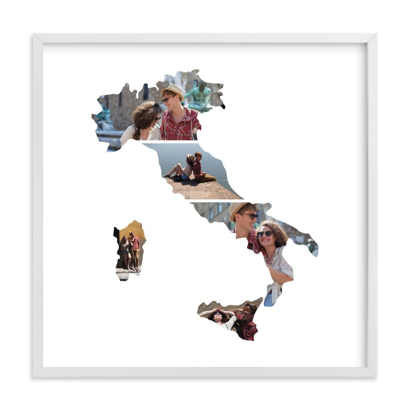 """Italy Love Location "" - Custom Photo Art Print by Heather Buchma in beautiful frame options and a variety of sizes."