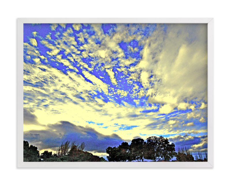 """""""Gilded Clouds"""" - Art Print by NSMARK in beautiful frame options and a variety of sizes."""