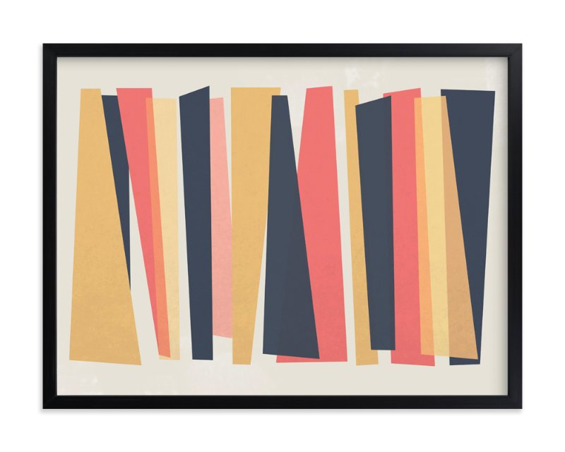"""Rectangles Revisited"" - Art Print by carly reed walker in beautiful frame options and a variety of sizes."