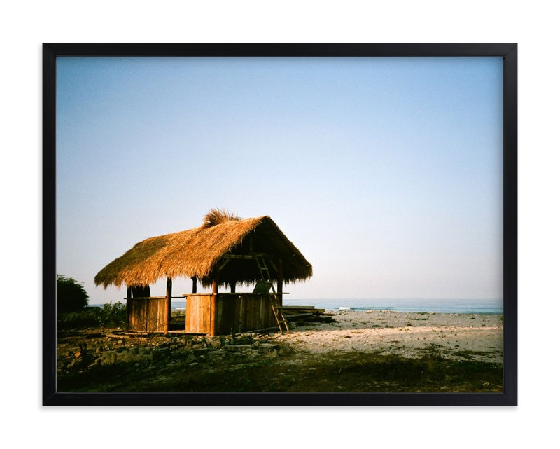 """""""Lone Hut"""" - Art Print by Jill Fisher in beautiful frame options and a variety of sizes."""