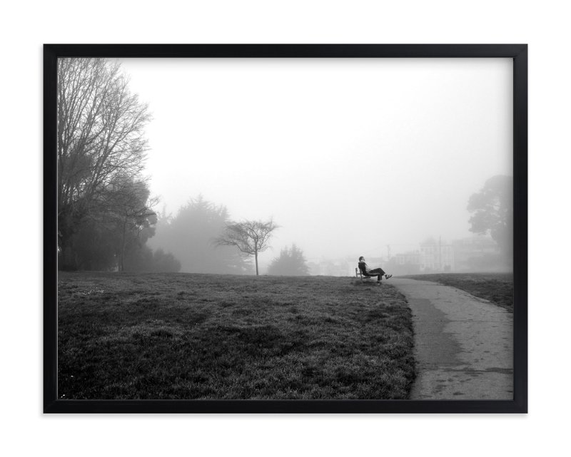 """""""The day I woke up early"""" - Art Print by iamtanya in beautiful frame options and a variety of sizes."""