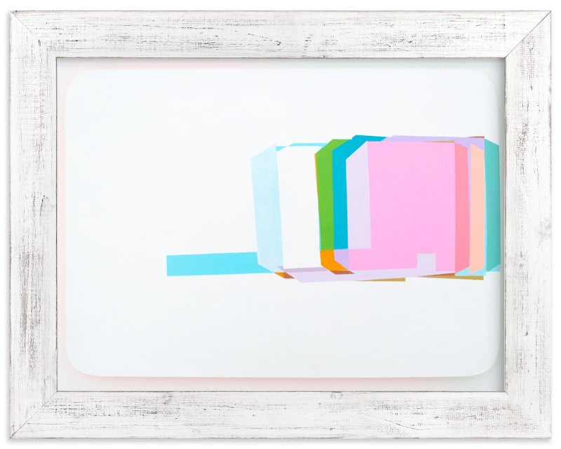 """Screens18"" - Art Print by Nezha Chan in beautiful frame options and a variety of sizes."