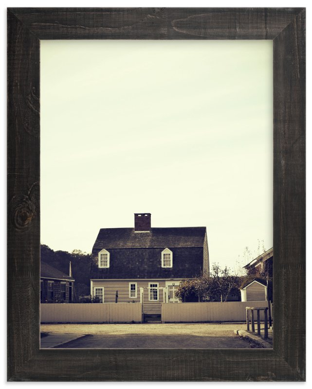 """Village Cottage"" - Art Print by Gray Star Design in beautiful frame options and a variety of sizes."