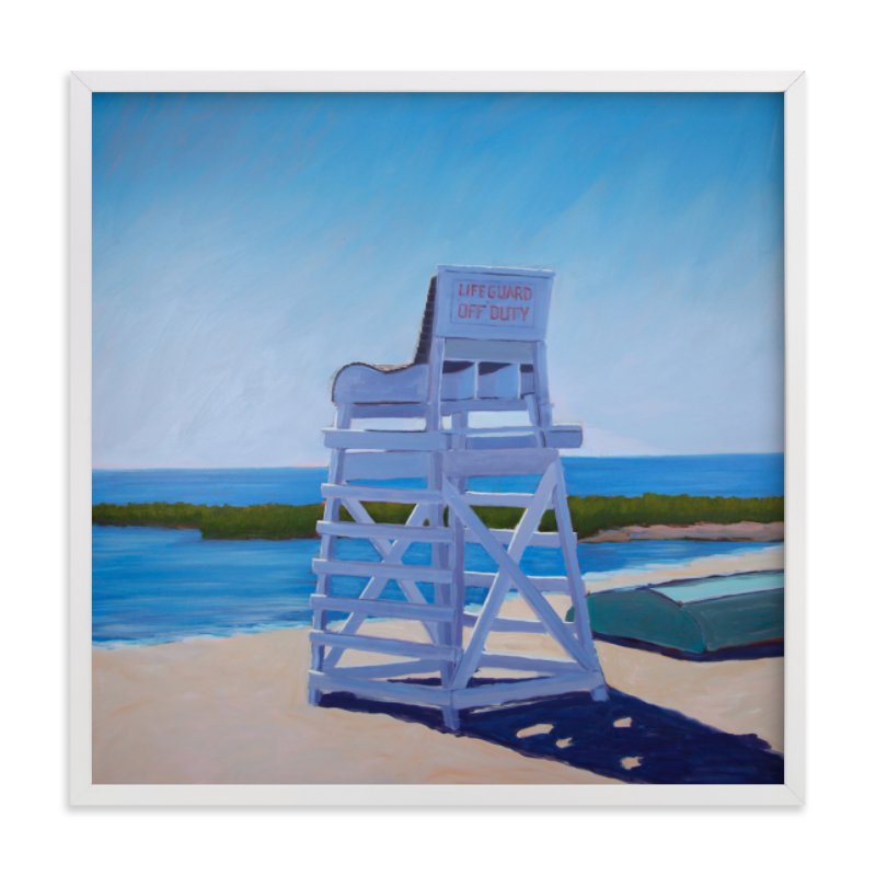 """Abandoned Watch"" - Art Print by Carol C. Young in beautiful frame options and a variety of sizes."