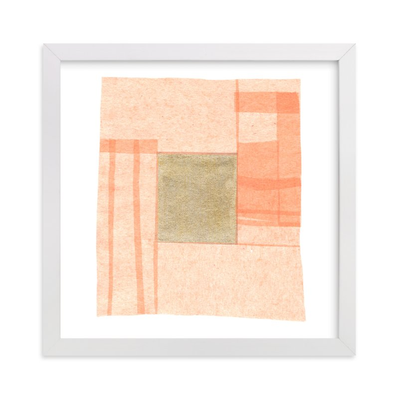 """Abstract Muted 1"" - Art Print by Kelly Nasuta in beautiful frame options and a variety of sizes."