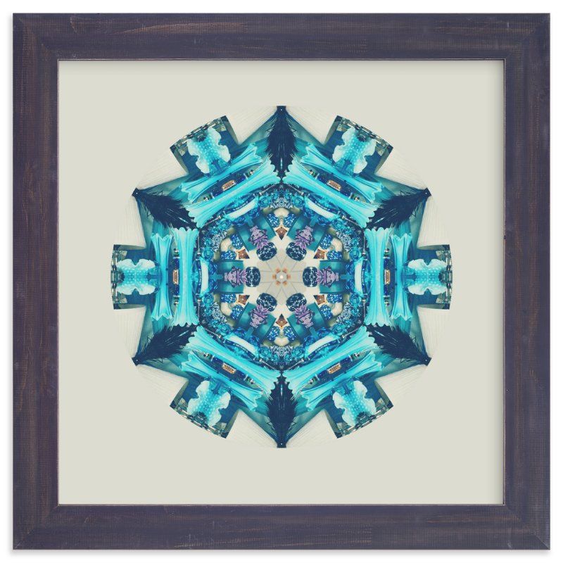 """""""Blue Moon Room"""" - Art Print by Stephica Burton in beautiful frame options and a variety of sizes."""