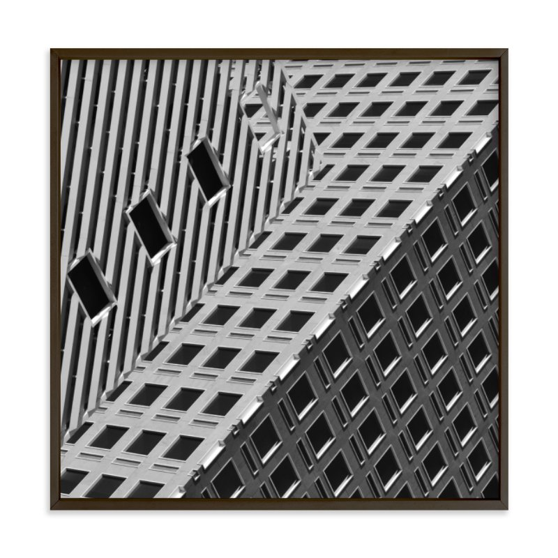 """""""Squares and Lines"""" - Art Print by Brian Collins in beautiful frame options and a variety of sizes."""