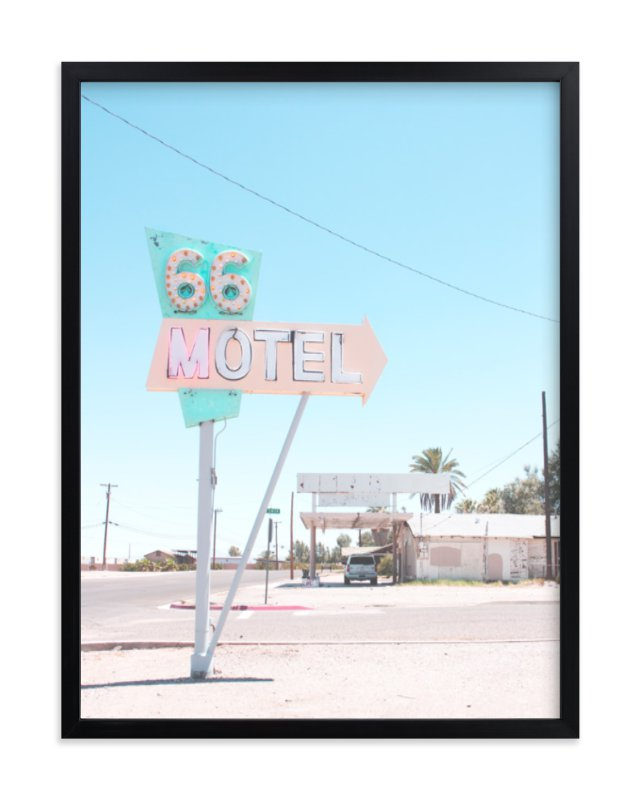 """66"" - Art Print by Calais Le Coq in beautiful frame options and a variety of sizes."