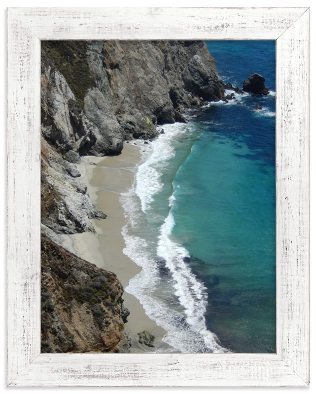 """Big Sur Waves"" - Art Print by Jan Kessel in beautiful frame options and a variety of sizes."