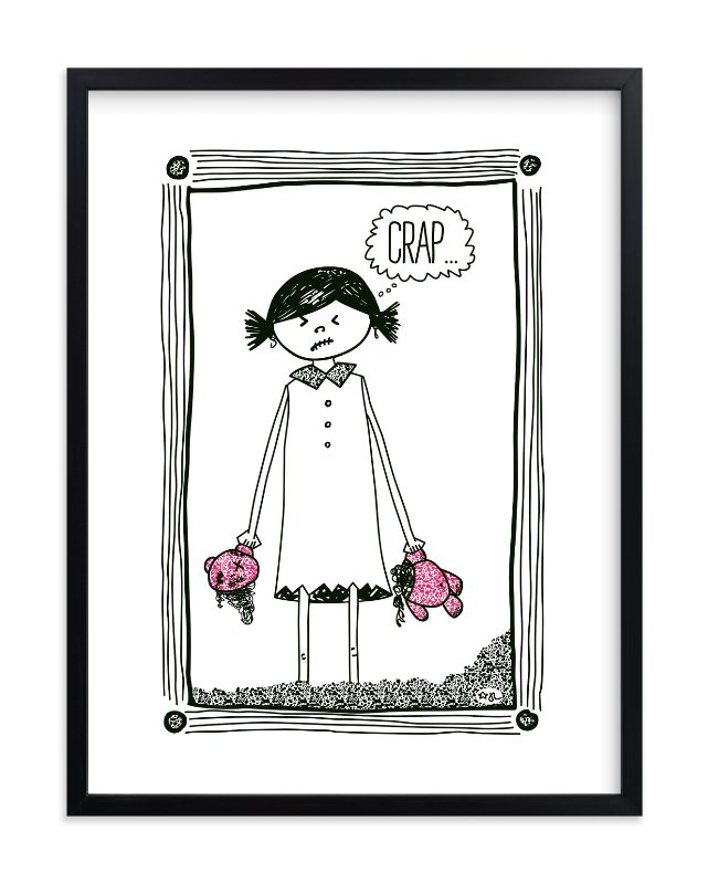 """Cheer Up!"" by blackwhite press in beautiful frame options and a variety of sizes."