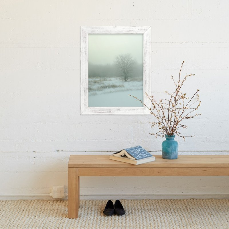"""Winter Fog"" - Art Print by Paul Hodges in beautiful frame options and a variety of sizes."