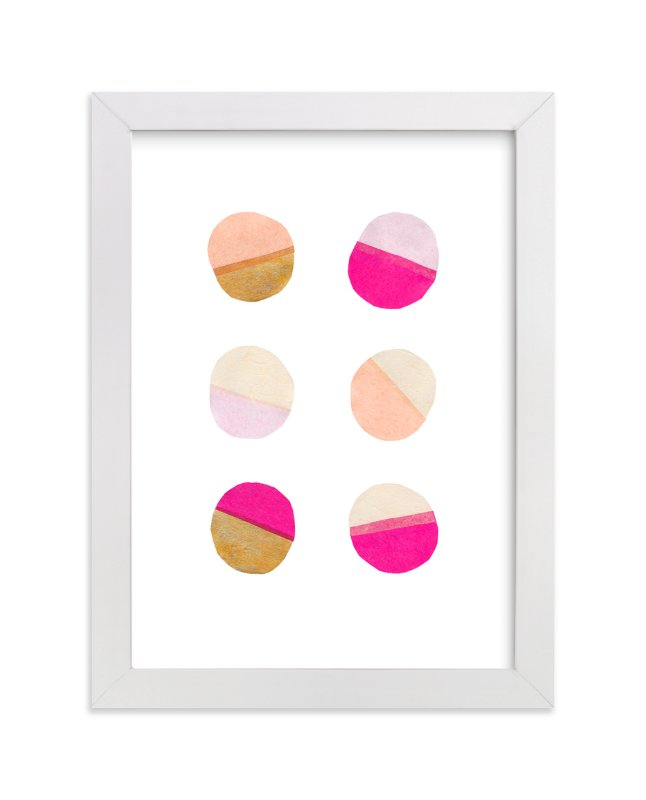 """Circling 1"" - Art Print by Kelly Nasuta in beautiful frame options and a variety of sizes."