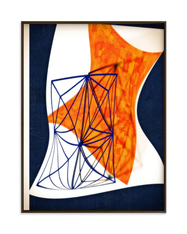 """Disinhibition"" - Limited Edition Art Print by Alex Isaacs Designs in beautiful frame options and a variety of sizes."