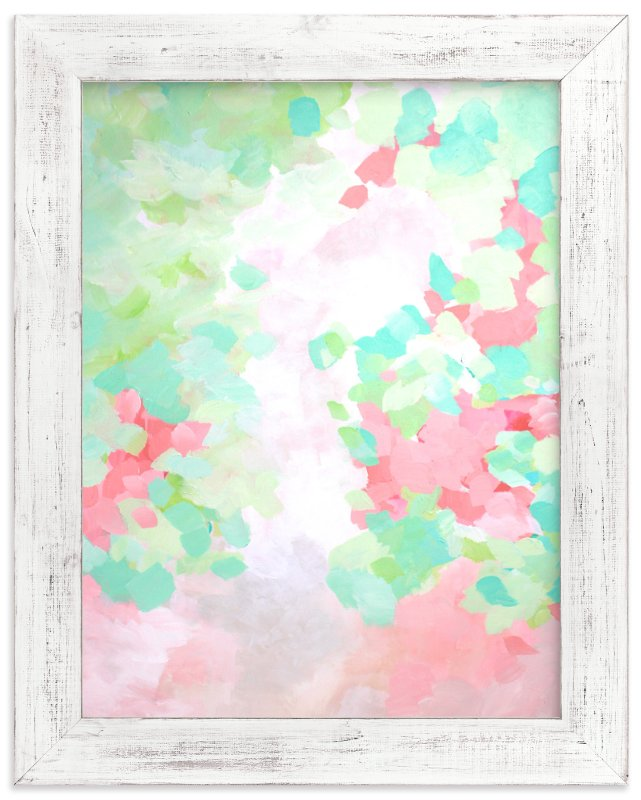 """Ranunculus "" - Art Print by Art by Megan in beautiful frame options and a variety of sizes."