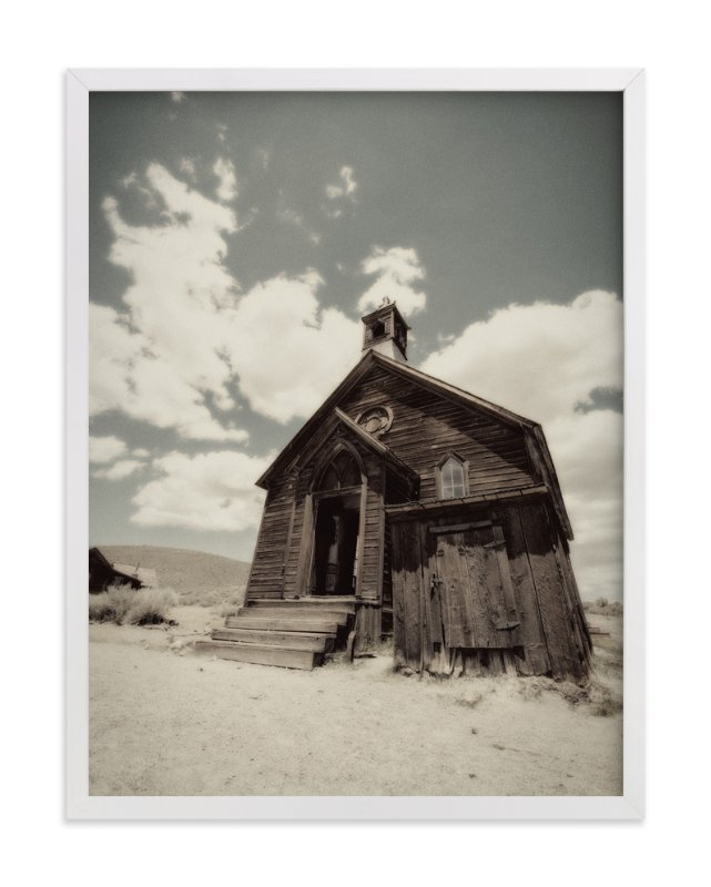 """""""Buildings of Bodie, CA :: I"""" - Art Print by Kellie Medivitz in beautiful frame options and a variety of sizes."""