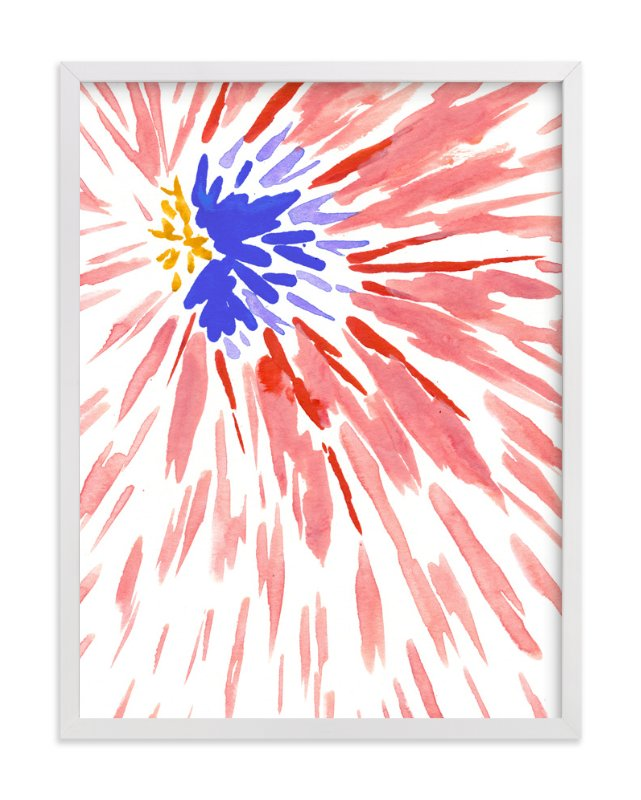 """""""Burst Series #4"""" - Art Print by Chelsey Scott in beautiful frame options and a variety of sizes."""