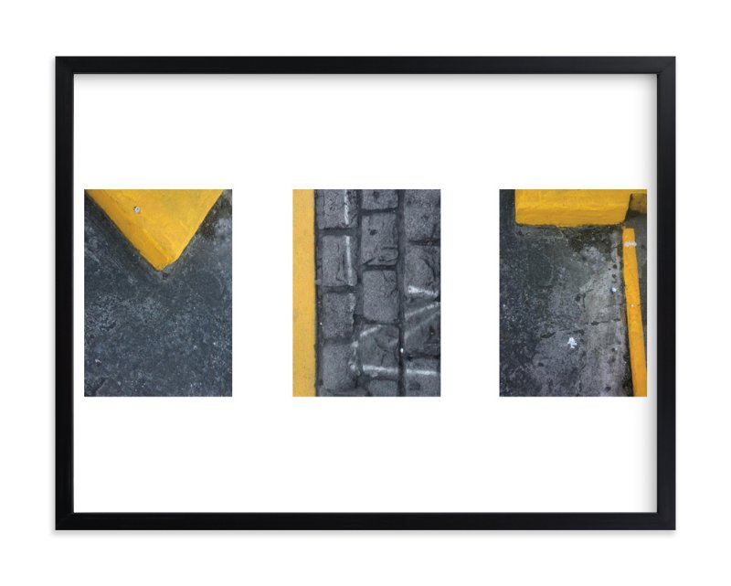"""Caution Series 4"" - Art Print by Jonathan Howard in beautiful frame options and a variety of sizes."
