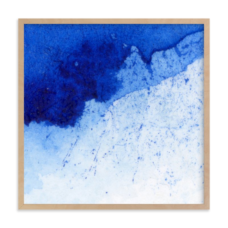"""Wind and Water"" - Art Print by Cathy Moynihan in beautiful frame options and a variety of sizes."