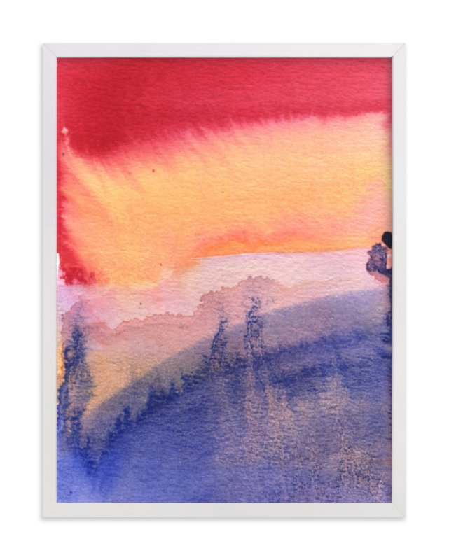 """That Light"" - Art Print by Aimee Siberon in beautiful frame options and a variety of sizes."